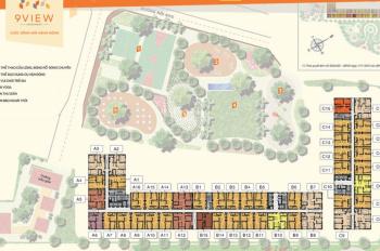 Chính chủ bán căn hộ 9 View 3PN giá 2,2 tỷ, view công viên, hướng Tây Nam, tầng đẹp. LH: 0938257978