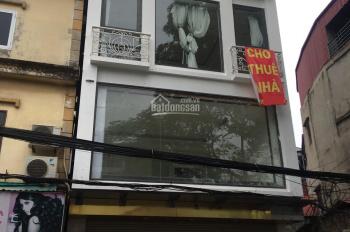 Cho thuê nhà mặt phố Nguyễn Khuyến: 220m2 x 3 tầng, mặt tiền 5,5m, thông sàn, LH: 0974557067