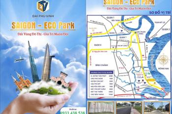 Sự thật về dự án Sài Gòn Eco Park đang thu hút các nhà đầu tư