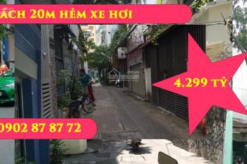 Nhà hẻm đẹp 30m2 trệt lầu 4.299 tỷ Nguyễn Phi Khanh TTQ1 chợ Tân Định 5 phút