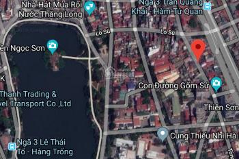 Chính chủ anh chị tôi bán 400m2, mặt tiền 13.5m, mặt phố Hàng Vôi, Hoàn Kiếm, giá 410 tr/m2