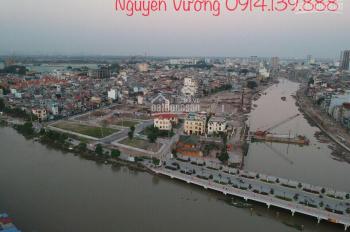 Bán lô đất 50m2 mặt phố đi bộ Thế Lữ, dự án chỉnh trang sông Tam Bạc. LH 0914.139.888