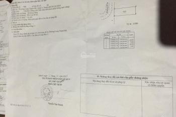 Chính chủ kẹt tiền bán gấp tái định cư đường 4A Phước Thiện đối diện vin giá chỉ 38tr/m2 0937294139