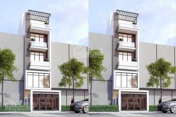 Nhà đẹp mới xây trung tâm quận 7, 1 trệt 3 lầu 1 sân thượng tặng kèm sân vườn