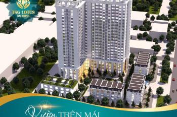 Bán căn hộ full nội thất cao cấp quận Long Biên giá 2.1 tỷ/ căn 3PN. Hỗ trợ 0% LS, CK 3% GTCH