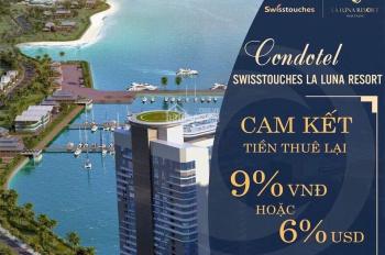 Cơ hội đầu tư căn hộ khách sạn 5* lợi nhuận tối thiểu ngân hàng cam kết 9%, cam kết mua lại 120%