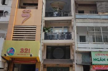 Chính chủ: Bán nhà 7 tầng, mặt tiền Trần Hưng Đạo, Q5, đối diện TTTM Ái Huê 2. Giá 29.5 tỷ