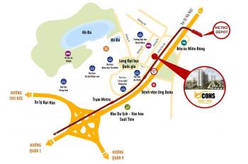 Căn hộ Bình Dương ngay làng Đại Học, tuyến Metro số 1, Suối Tiên giá cực tốt. LH 0888 839 846