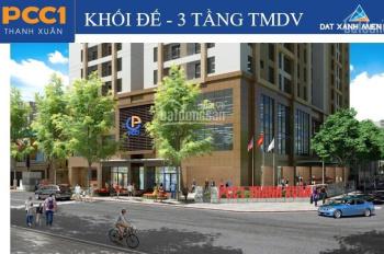 Chỉ 1.5tỷ sở hữu ngay căn 2 ngủ 2vs PCC1 Thanh Xuân, quý II/2020 nhận nhà, tầng đẹp 9, 18, 20, 27