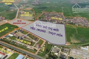 Cần bán 2 căn shophouse SH1-05 và SH1-13, dự án KĐT Susan cạnh KCN Samsung Yên Phong Bắc Ninh