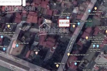 Cần bán đất thổ cư gần 50 m2 (Sổ 40 m2), chính chủ ngõ Phan Phù Tiên