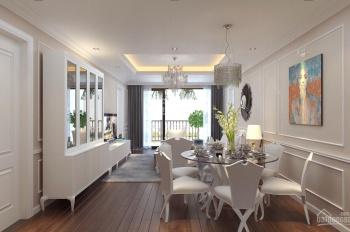 Cho thuê căn hộ cao cấp tại D'. Le Pont D'or, 36 Hoàng Cầu 127m2, 3PN, đủ đồ view hồ giá 16tr/th