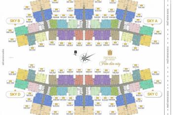 Bán lỗ CC Imperia Sky Garden 423 Minh Khai, 1211-B: 73,38m2 &1501-A: 104,6m2, 35tr/m2, 0971.085.383