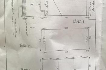 Bán nhà 2MT Gò Dầu, Tân Phú, DT: 8x28m, đúc 3 tấm , giá 30 tỷ, call 0387731377