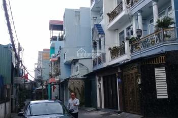 Nhà bán 1 trệt 3 lầu, DT 4m x 16m, 1 trục Quang Trung, giá 7 tỷ
