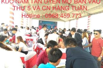 BÁN ĐẤT NỀN KDC NAM TÂN UYÊN . lh 0968459773