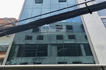Nhà mặt ngõ 112 đường Trung Kính đôi, diện tích 80m2 x 5 tầng, mặt tiền 5m, đường rộng 10m có hè