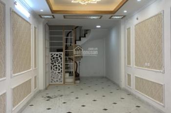 Nhà khu phân lô phố Nguyễn An Ninh, Trương Định, HBT, 35m2, 5 tầng, KD, ô tô đỗ cửa, giá 4.45 tỷ