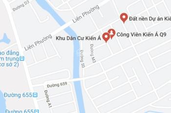 Bán đất biệt thự 310m lô góc đường Liên Phường khu dân cư Kiến Á Quận 9 đường 16m