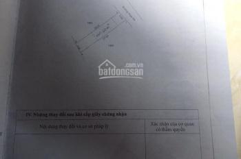Bán nhà Tân Định KP1, 135 m2, 60 m2 thổ cư, 1.6 tỷ