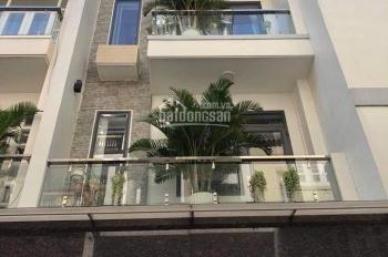Nhà hẻm số 23 Nơ Trang Long hẻm xe hơi 5x20m, 1 trệt 3 lầu, giá 8tỷ3, LH 0938893198