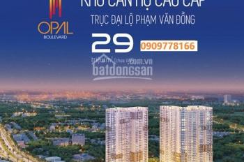 Đầu tư căn hộ Opal diện tích nhỏ liên hệ ngay hôm nay để nhận ưu tiên chọn căn sớm nhất đẹp nhất