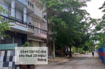 Cho thuê nhà nguyên căn, 3 tầng, 92m2, 20 triệu/tháng, khu dân cư, p. Phú Mỹ, Quận 7