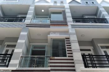 Nhà mới đẹp đường Mễ Cốc, P15, Q8, DT: 3,5m x 14.7m, 1 trệt, 2 lầu, 1 sân thượng, hẻm nội bộ 4,5m