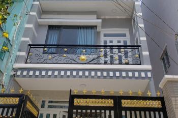 Bán nhà 105m2 mới xây 2 lầu, 5PN có toilet riêng, sân thượng đường Lương Văn Can, P15, Quận 8