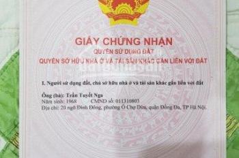 Chính chủ cần bán nhà cấp 4 sổ đỏ 35m2 tại Văn Phú, Hà Đông, để lại nội thất, giá 1,45 tỷ