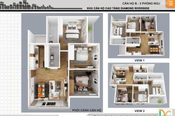 Gia đình tìm được căn hộ mới nên cần bán lại Diamond Riverside Q.8 giá 1,450 tỷ. LH 0355.1616.19