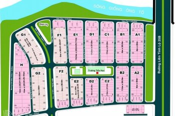 Bán đất Thế Kỉ 21 ngay UBND Quận 2, Đảo Kim Cương, DT 5x20m, 8x20m, 9x21,5m sổ đỏ gần sông, 75tr/m2