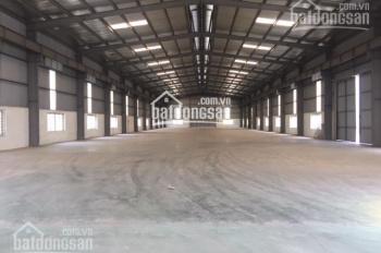 Công ty CP An Vượng cho thuê kho xưởng, DT: 1500m2, 3000m2, 7000m2 tại Văn Giang. LH: 0901728285