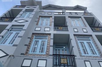 Bán nhà 48m2 mới xây 1 trệt, 2 lầu, 4 phòng ngủ, 3WC, sân thượng đường Bình Đông, P15, Quận 8