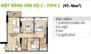 Bán gấp căn hộ Era Town Đức Khải, 97m2, 3PN, full nội thất 1.9 tỷ. LH 0902 952 838