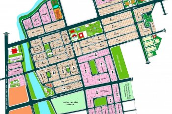 Bán lô 112m2 hướng TN sổ đỏ CN đối diện công viên KDC Nam Long Quận 9 giá 51tr/m2. LH: 0909.797.786