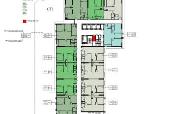 Bán cắt lỗ gấp CC Eco Green City, căn 16-01 CT1, DT 75m2, 2PN, giá rẻ 1.9 tỷ. Cô Hiền 0962.354.708