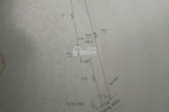 Bán 500m2 đất mặt tiền Tân Hiệp 46, cách ngã 3 TP mới 900m. Giá 1tỷ590