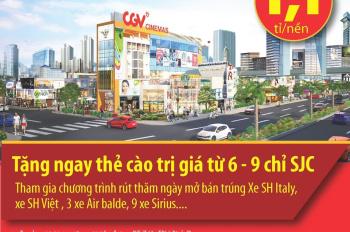Chính thức mở bán dự án TM chợ Nhật Huy, còn 2 nguồn kín F45 và G62 ai nhanh tay LH cọc luôn