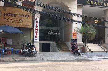 Cho thuê nhà mặt phố Nguyễn Trường Tộ 110m2 x 7 tầng, MT 5m, thông sàn, có hầm xe, thang máy, PCCC