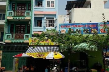 Bán gấp mặt tiền Hoa Bằng, P Tân Sơn Nhì, Q Tân Phú, DT: 4x26m, 3 lầu + ST. Giá đầu tư