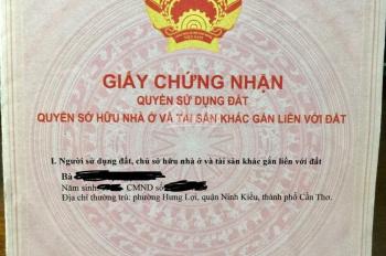 Cần tiền bán gấp miếng đất tại Phú An, Bến Cát, Bình Dương