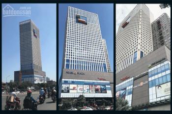 Văn phòng cho thuê tại Pearl Plaza, đường Điện Biên Phủ, DT từ 100 đến 500m2, giá 559 ngàn/1m2/th