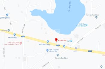Cần bán nhà mặt phố đường Điện Biên, Nam Định - Kinh doanh đắc địa -  DT: 216m2 - Giá: 52tr/m2