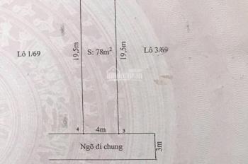 Bán nhà 2 tầng hướng Nam, giá 1.8 tỷ phố Trung Lực, Hải An, Hải Phòng