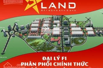 Bán đất mặt đường tuyến 1 mặt tiền 7,5m, giá rẻ nhất dự án ICC Quán Mau, Quang Huy - 0976.17.05.93