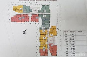Bán cắt lỗ 100tr căn 123m2 và 148m2 toà CT1 E4 Yên Hoà, vào tên trực tiếp CĐT. LH 091.6824.999