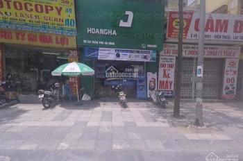 Cho thuê nhà MP Trần Phú. DT 40m2*2T, MT 4m, giá 48tr/th