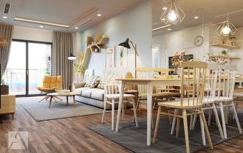 Cho thuê căn hộ Sailing Tower: 80m2, 2 phòng ngủ, 2WC. Giá 25t/tháng ĐT 0789 882 119 Nhân