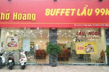 Cho thuê cửa hàng tại 4.16 đường Ngô Quyền, thành phố Thái Bình